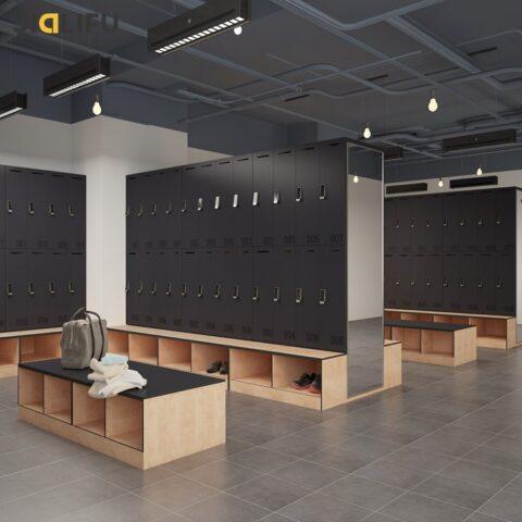 Changing Room Lockers