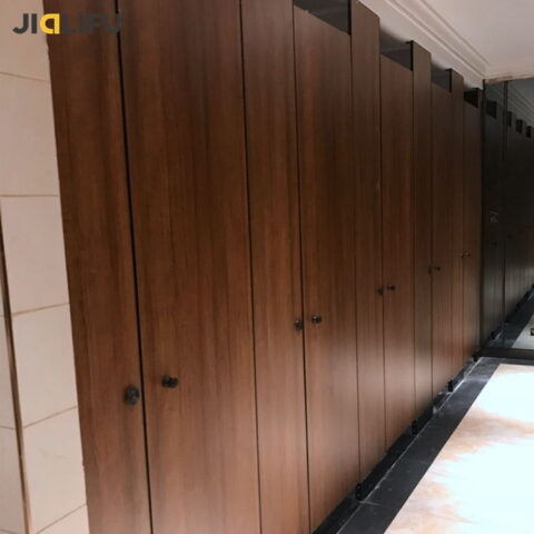 Commercial toilet cubicles