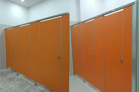 NationalLibraryofMyanmar Toilet Partition