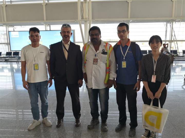Erbil International Airport field