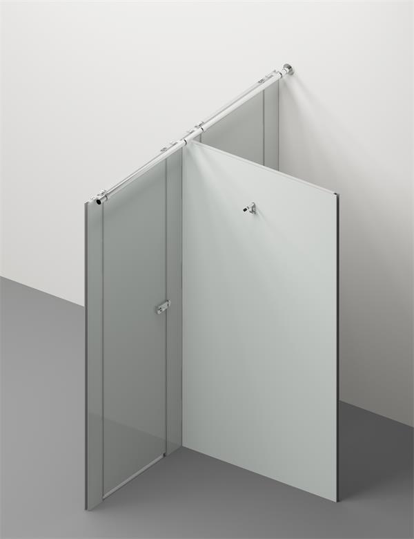 Glass Composite Toilet Cubicle 3