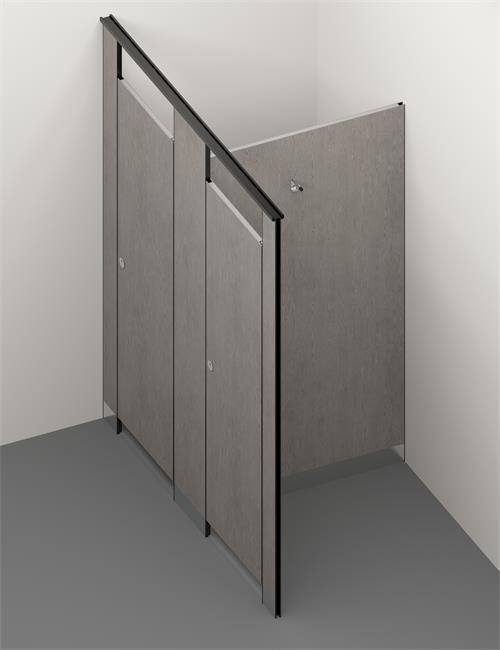 PVC toilet cubicle 2