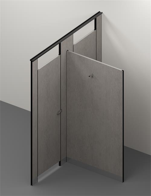 PVC toilet cubicle 3