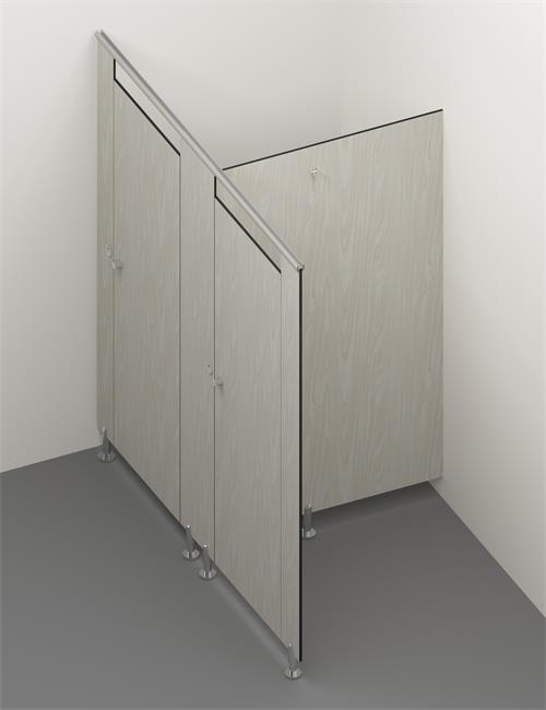 compact laminate toilet cubicle 1
