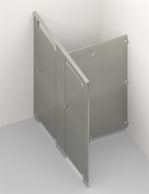 Stainless Steel Toilet Cubicle 2