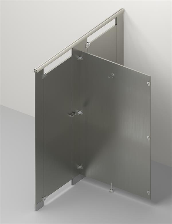 Stainless Steel Toilet Cubicle 3