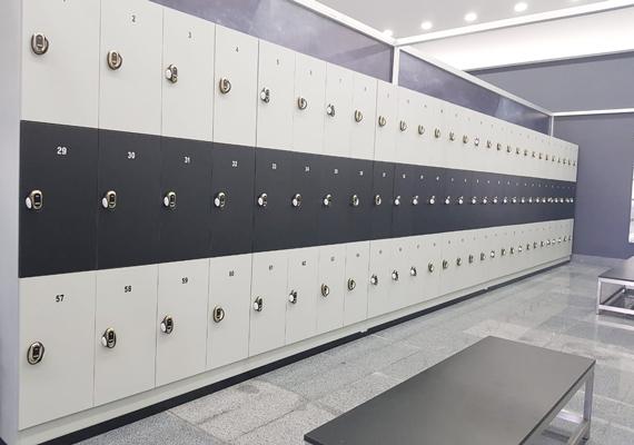Plastic Laminate Lockers