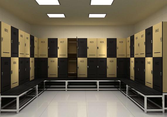 Plastic Laminate Lockers (2)