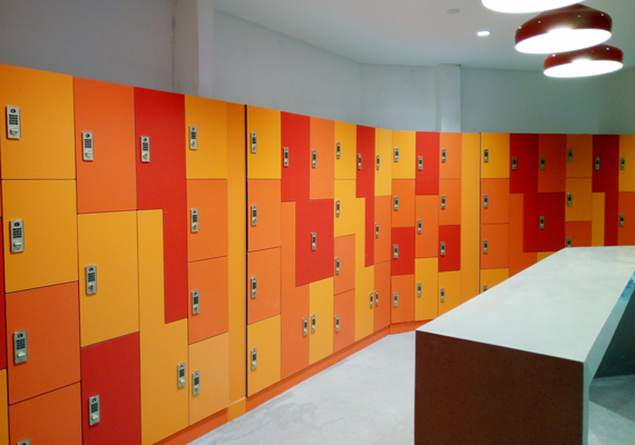 phenolic HPL locker